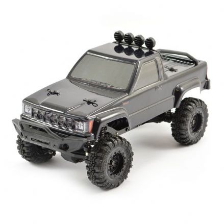 FTX5502BK OUTBACK MINI 1:24 TRAIL READY-TO-RUN BLACK